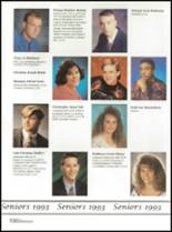 1993 Washington High School Yearbook Page 160 & 161