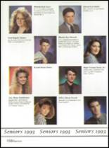 1993 Washington High School Yearbook Page 162 & 163