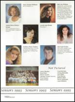 1993 Washington High School Yearbook Page 164 & 165