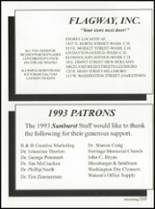 1993 Washington High School Yearbook Page 208 & 209