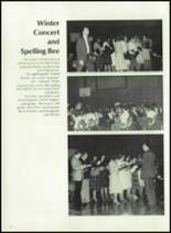 1983 Houston High School Yearbook Page 46 & 47