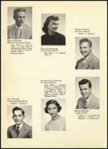 1953 St. Josephs High School Yearbook Page 20 & 21