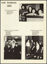 1953 St. Josephs High School Yearbook Page 32 & 33