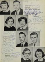 1956 Washington High School Yearbook Page 36 & 37