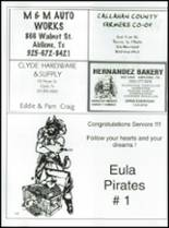 2007 Eula High School Yearbook Page 144 & 145