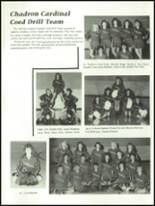 1988 Chadron High School Yearbook Page 28 & 29