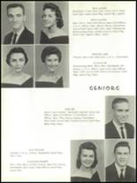 1959 Forest High School Yearbook Page 20 & 21