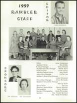 1959 Forest High School Yearbook Page 66 & 67