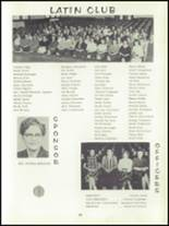 1959 Forest High School Yearbook Page 70 & 71