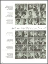 1971 Adams High School Yearbook Page 132 & 133
