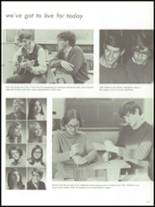1971 Adams High School Yearbook Page 134 & 135