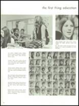 1971 Adams High School Yearbook Page 166 & 167