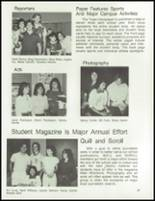 1984 Petaluma High School Yearbook Page 62 & 63