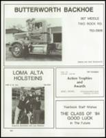 1984 Petaluma High School Yearbook Page 228 & 229