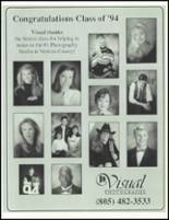 1994 Newbury Park High School Yearbook Page 242 & 243