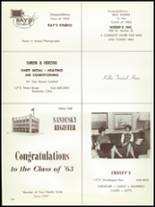 1963 Sandusky High School Yearbook Page 162 & 163