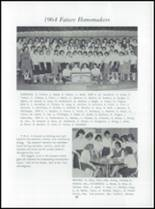 1964 Triway High School Yearbook Page 70 & 71