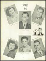 1952 Craig High School Yearbook Page 16 & 17