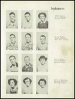 1952 Craig High School Yearbook Page 20 & 21