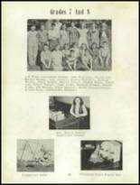 1952 Craig High School Yearbook Page 50 & 51