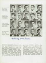 1945 Tilden Technical High School Yearbook Page 54 & 55