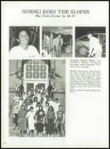 1987 North High School Yearbook Page 126 & 127