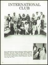 1987 North High School Yearbook Page 154 & 155