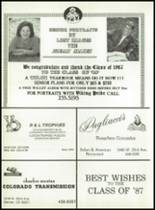1987 North High School Yearbook Page 212 & 213