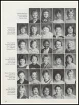 1986 Colbert High School Yearbook Page 34 & 35