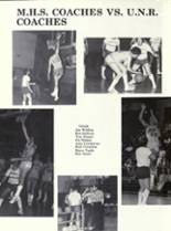 1981 Bishop Manogue High School Yearbook Page 110 & 111