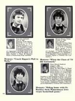 1981 Bishop Manogue High School Yearbook Page 168 & 169