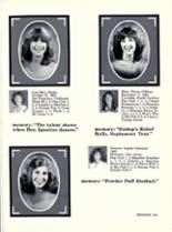 1981 Bishop Manogue High School Yearbook Page 186 & 187