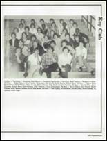 1980 Shelbyville Central High School Yearbook Page 166 & 167
