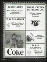 1980 Shelbyville Central High School Yearbook Page 200 & 201