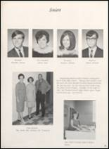 1968 Clyde High School Yearbook Page 18 & 19