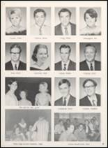 1968 Clyde High School Yearbook Page 20 & 21