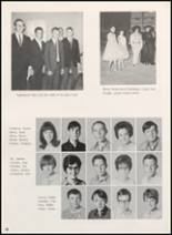 1968 Clyde High School Yearbook Page 32 & 33