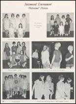 1968 Clyde High School Yearbook Page 58 & 59