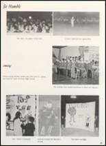 1968 Clyde High School Yearbook Page 70 & 71
