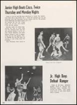 1968 Clyde High School Yearbook Page 104 & 105