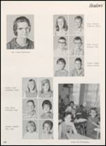 1968 Clyde High School Yearbook Page 122 & 123
