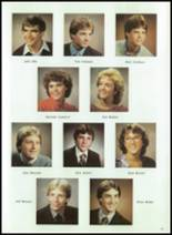 1984 Corunna High School Yearbook Page 32 & 33