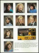 1984 Corunna High School Yearbook Page 34 & 35