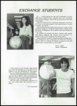 1984 Corunna High School Yearbook Page 76 & 77
