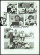 1984 Corunna High School Yearbook Page 108 & 109