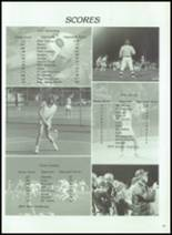 1984 Corunna High School Yearbook Page 110 & 111