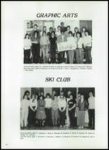 1984 Corunna High School Yearbook Page 126 & 127