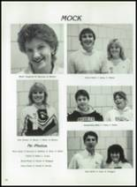 1984 Corunna High School Yearbook Page 130 & 131