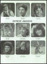 1984 Corunna High School Yearbook Page 142 & 143