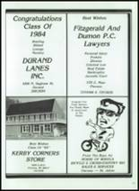 1984 Corunna High School Yearbook Page 156 & 157
